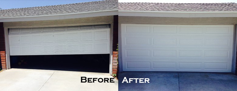 Long Beach Garage Door Replacement