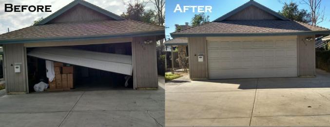 Riverside Garage Door Off Track