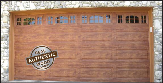 Garage Door Wood Like