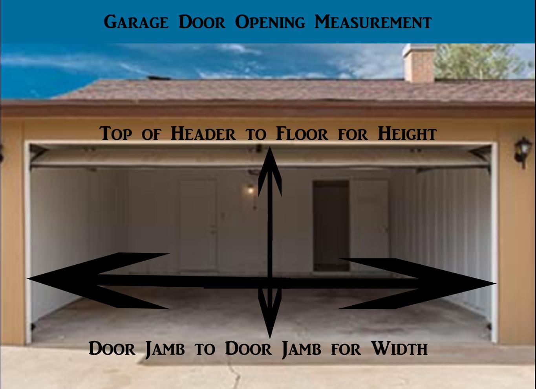 Fontana how to measure garage door opening absolute garage doors rubansaba