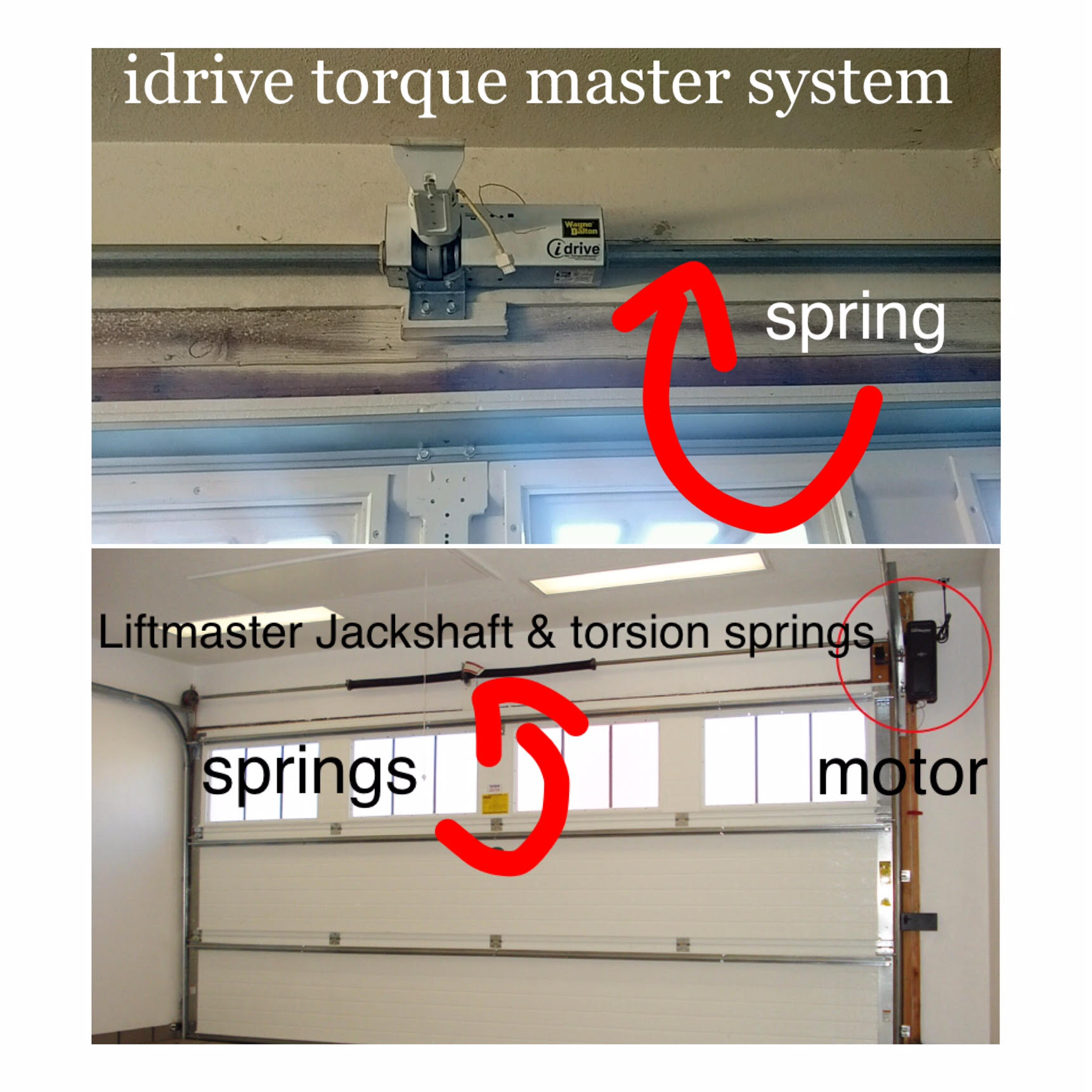 installed before tx pic psr of pics repairs garage opener installation after repair blog attachment door liftmaster austin