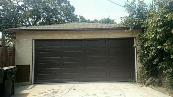 Brown Garage Door Riverside